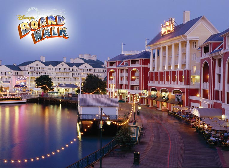 The Disney BoardWalk is an amazing waterfront entertainment complex that's free to all Orlando visitors. Best Vacations Ever can give you your magical vacation in Orlando.