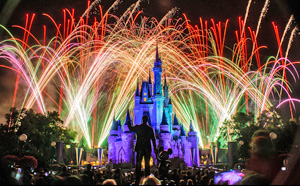 On your Best Vacations Ever trip to Orlando. you have plenty of spots to watch the brilliant fireworks over Cinderella's Castle every night without paying for an admission ticket.