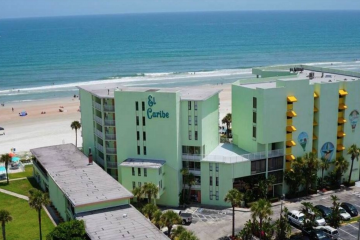 El-Caribe-Resort-Daytona-Beach-Florida-exterior-aerial